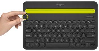 Logitech multi device toetsenbord k480 qwerty - Kleine lay outs het oppervlak ...