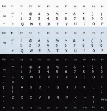 merken van letters
